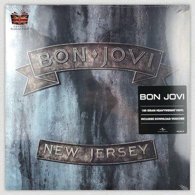 [英倫黑膠唱片Vinyl LP] 邦喬飛/新澤西  Bon Jovi / New Jersey 180g 2LP
