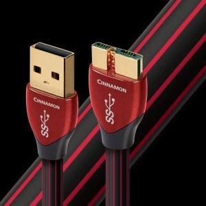 【富豪音響】美國Audioquest Cinnamon USB線(USB 3.0A-MICRO)0.75M