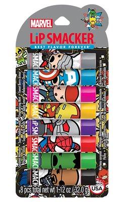 Lip Smacker [ 漫威卡通版系列護唇膏 ] Marvel 一組內有八支 全新品