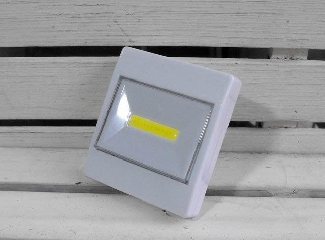 【買家購】LED附磁壁掛燈夜燈(單排)~有強力磁鐵.可吸在冰箱 汽車 工作台