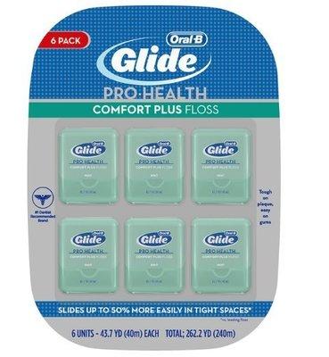(欣志小鋪)costco  代購  Glide 深層清潔牙線 - 清涼薄荷味 40公尺 X 6入 特價