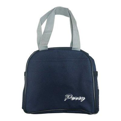 Percy字樣便當袋I02-藍
