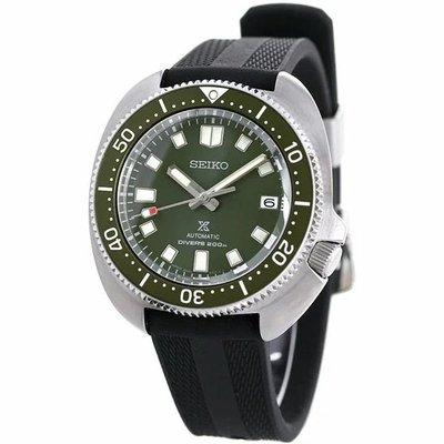 預購 SEIKO SBDC111 SPB153J1 精工錶 機械錶 PROSPEX 43mm 綠面盤 黑膠錶帶 男錶