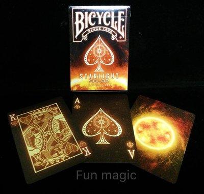 [fun magic] 太陽單車牌 bicycle starlight solar playing card 星光撲克牌