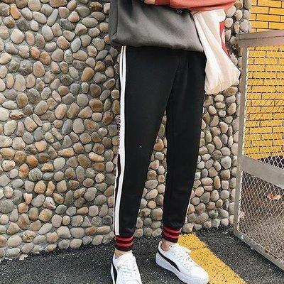 YEAHSHOP 九分褲春季男士褲子韓版潮流休閒褲男褲學生Y185