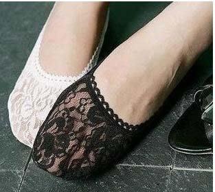 【批貨達人】時尚蕾絲花邊襪 隱形襪...