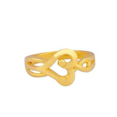 【JHT 金宏總珠寶/GIA鑽石】1.05錢 愛心黃金戒指 (請詳閱商品描述)