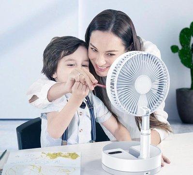 送收納袋【 伸縮 遙控 擺動 折叠風扇 】P10 摺疊風扇 dc風扇 充電風扇收納式風扇 落地桌用收納小風扇 迷你風扇