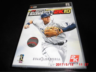PCGAME MAJOR LEAGUE BASEBALL  2K  10   未拆