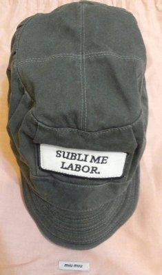 日本潮牌SUBLIME基本款墨綠棒球帽,報童帽,全新有吊牌,老爸帽 daddy hat標標樂 (NO.601)