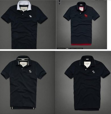 【A&F】 LAKE PLACID / GOODNOW MOUNTAIN POLO  短袖 POLO衫,S號、M號、L號