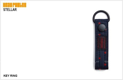 WaShiDa PLUS+【 日本 HEAD PORTER STELLAR 星星系列 KEY RING 鑰匙圈 】- 預訂 HP-4451