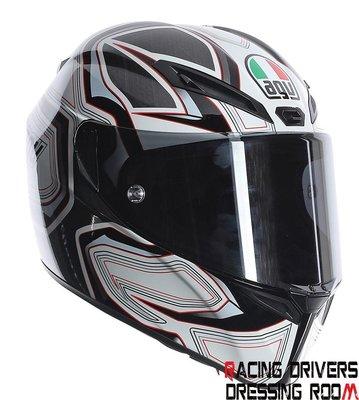 ♚賽車手的試衣間♚ AGV® AGV GT-Veloce Gravity White/Black/Rad 安全帽
