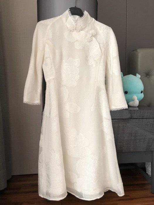 Selina 精品 中國風 蕾絲布料 洋裝 改良旗袍
