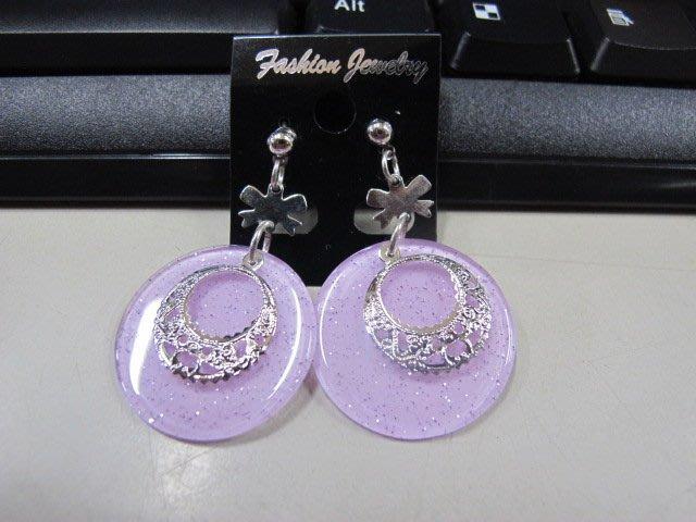 二手舖 NO.4510 時尚造型耳環 耳針 耳鉤 便宜賣 首飾飾品