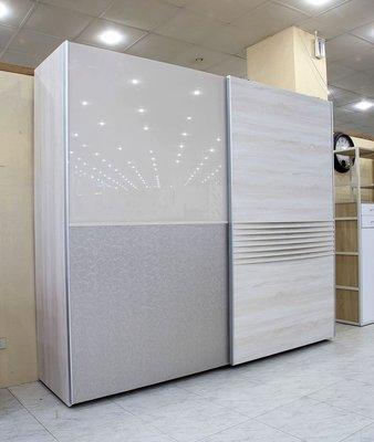 【歐風別館】不丹精品洗白色八尺懸吊式衣櫃【基隆至台中免運費】【全館滿萬享24期0利率】