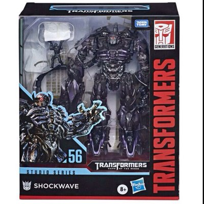 全新 未開封 transformers leader class shockwave optimus prime studio series 56 變形金剛