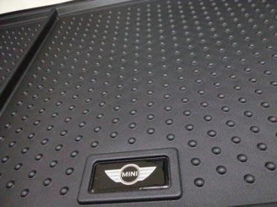 (B&M 原廠精品) MINI COOPER S R60 countryman 原廠橡膠 行李箱墊 後箱防水置物墊 現貨