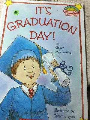 英文童書  畢業日 It's graduation day Grace Maccarone 52