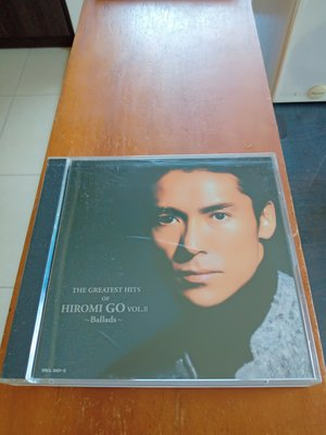 鄉廣美 THE GREATEST HITS OF HIROMI GO VOL.Ⅱ ~Ballads CD 日版 保存優