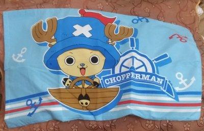 =YvH=pillowcase 信封型薄枕套一個 台灣製造 正版授權 航海王 水手喬巴 Chopperman 零碼