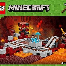 LEGO The Nether Railway Instructions 21130, Minecraft 71044 71025 21319