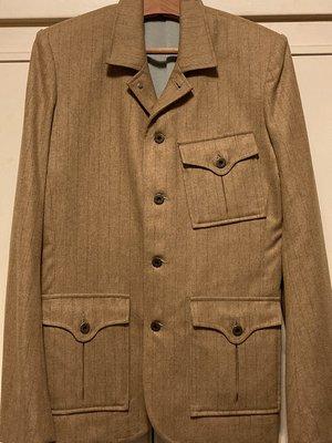 Thurs T0262 羊毛獵裝外套 Size:L