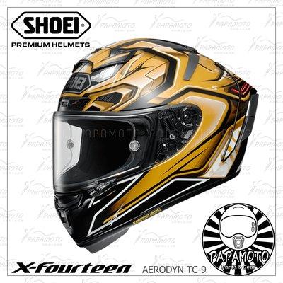 【趴趴騎士】SHOEI X14 Aerodyn TC-2 (X-14 X-Fourteen motoGP snell 黃
