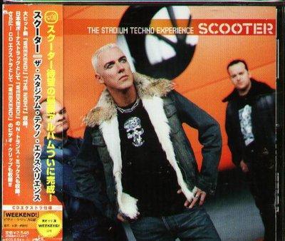 K - SCOOTER - Stadium Techno Experience - 日版 CD+2+VIDEO OBI