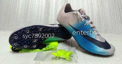 NIKE Zoom Ja Fly 3 Track耐克精英短距離田徑釘鞋865633-004白藍色*尺寸詢問 *