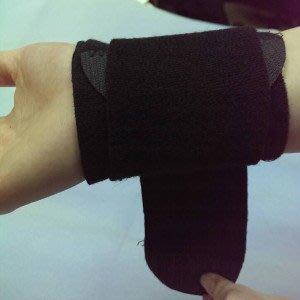黑色加壓護腕,防扭傷護腕,護腕籃球健身排球運動,腕部護具, 可調節鬆緊