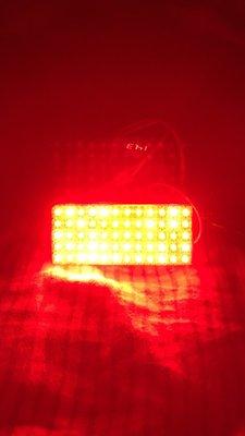=蘋果光LED專賣=TOYOTA爆亮紅光食人魚LED後霧燈RAV4-3代 60LED