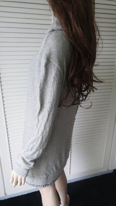 原價五萬多 義大利LIU JO 裙擺水鑽灰色寬鬆連身毛衣洋裝
