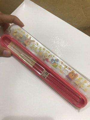 *凱西小舖*日本進口日製RUB A DUB DUB崛內慶子動物系列餐具組  筷子+收納盒