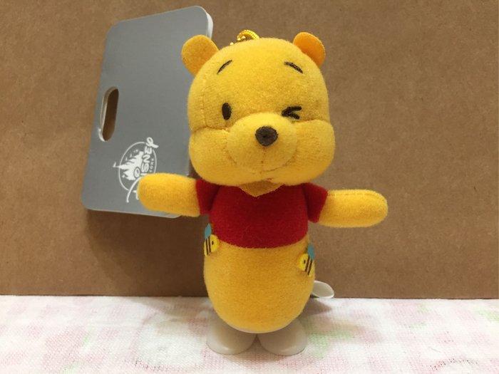 [變身館日本服飾]~Disney~迪士尼~絨毛~娃娃~掛飾~吊飾~Pooh~小熊維尼~日本購入~全新現品~玩具~會扭動