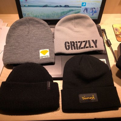 Diamond supply grizzly Brixton 各式毛帽