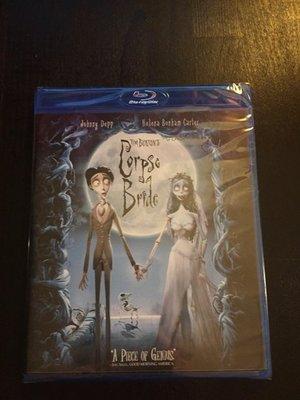 (全新未拆封)提姆波頓之地獄新娘 Corpse Bride 藍光BD(得利公司貨)限量特價