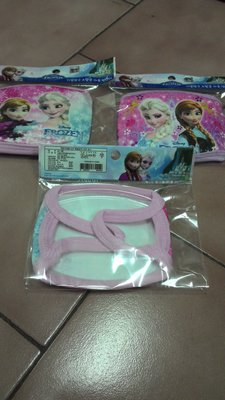 韓國原裝進口 冰雪奇緣 凱蒂貓口罩 麥坤口罩 兒童卡通口罩~現貨