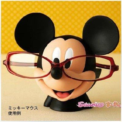 迪士尼米奇 可愛公仔立體造型 眼鏡架 現貨
