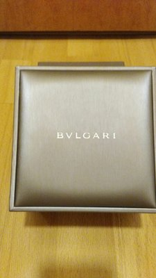 BVLGARI Watch case with outer box 錶盒