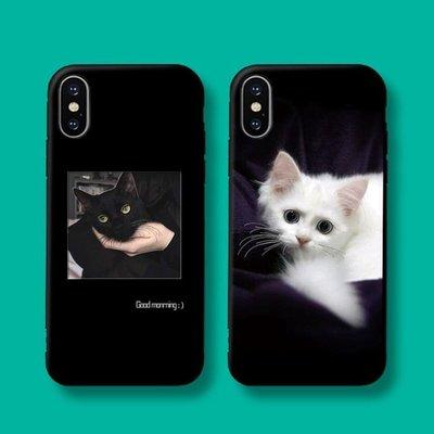iphone7蘋果x手機殼8plus網紅5s情侶xr女款xs 11pormax/ins冷淡風