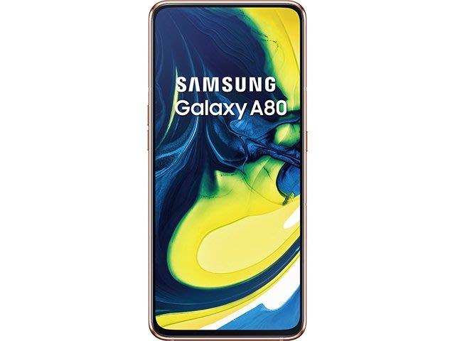 【天語手機館】SAMSUNG Galaxy A80 亞太 月繳596 門號價$8000**玻璃貼特價$150**