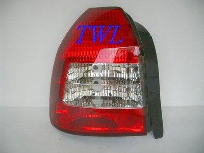 《※台灣之光※》全新HONDA CIVIC K8 3門3D晶鑽紅白尾燈組