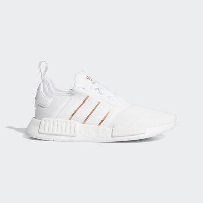 GOSPEL【Adidas NMD R1 】白金 女鞋 FW6434