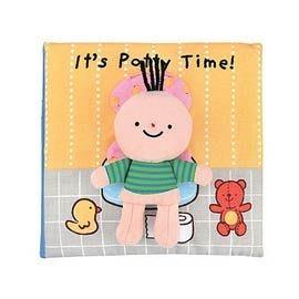 [小文的家] 便便時間到囉!It's Potty Time (英文布書)
