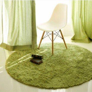 幸福小窩輕豪宅風 80*80 公分(圓形)設計感 客廳臥室室內外腳踏墊 地毯 地墊 瑜珈墊 兒童遊戲爬行墊 多色地毯
