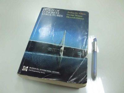6980銤:A14-5☆1991年『DESIGN OF CONCRETE STRUCTURES 11/e』《Arthur H.》