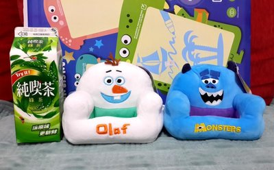 Frozen Olaf Monster Sullivan Sully Storage Couch Sofa shaped
