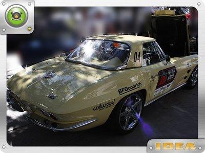 泰山美研社 D9244 Chevrolet Corvette Sting Ray 車款 後保險桿 國外進口