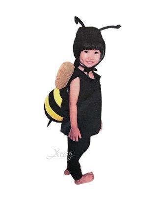 X射線【W390025】蓬蓬裝-蜜蜂球球裝(附頭套),化妝舞會/角色扮演/尾牙表演/萬聖節服裝/聖誕節/兒童變裝